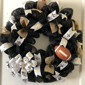 Other - New Orleans saints wreath